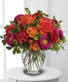 Pinks, Oranges, Reds, and Greens Combined!
