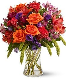 Autumn Gemstones Fall Bouquet