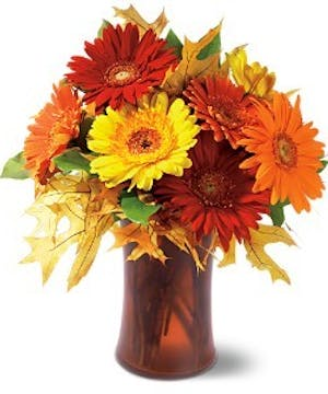 Autumn Gerberas Fall Bouquet