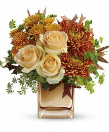 Autumn Romance Fall Floral Arrangement