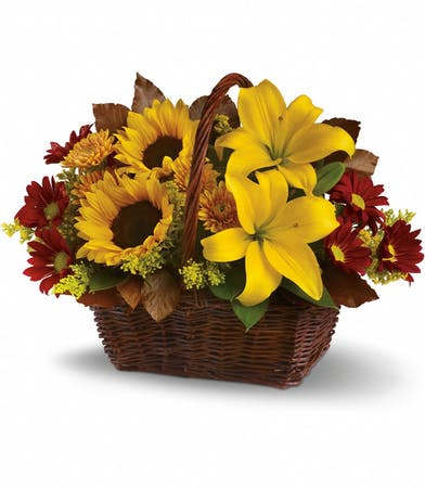Golden Days Floral Bouquet