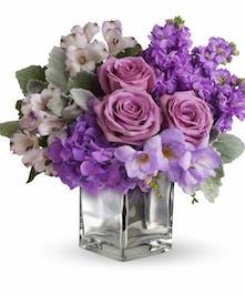 Springtime through lavender