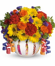 It makes a beautiful party centerpiece and a thoughtful gift!