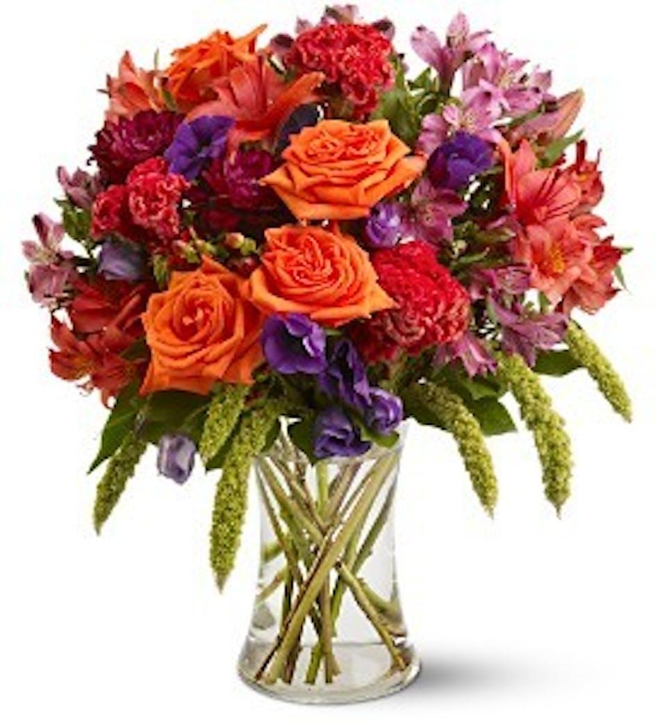 Autumn Gemstones Fall Flower Bouquet Conklyns Florist