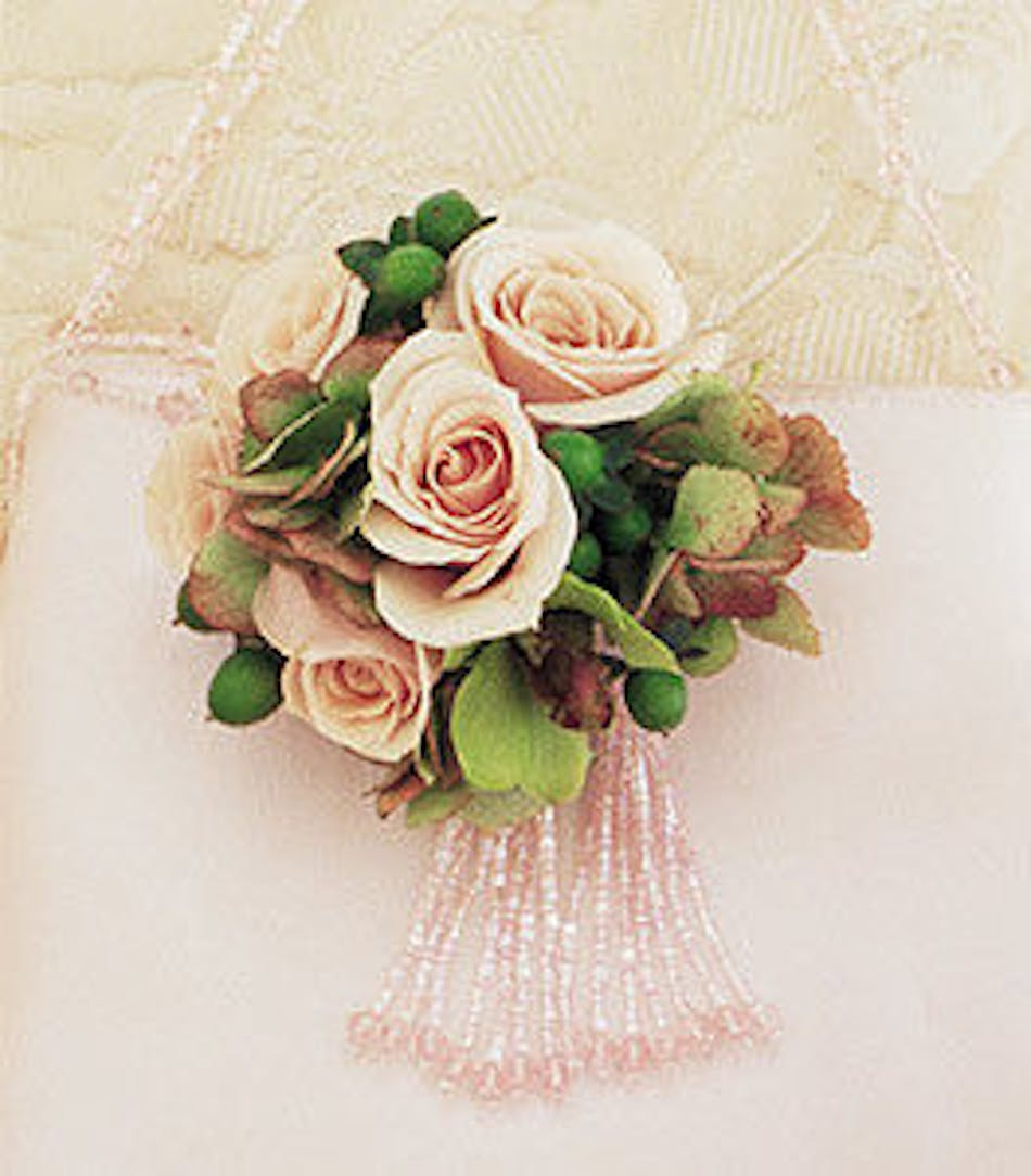 Pretty Pink Petals Cluster Corsage About Flower Products