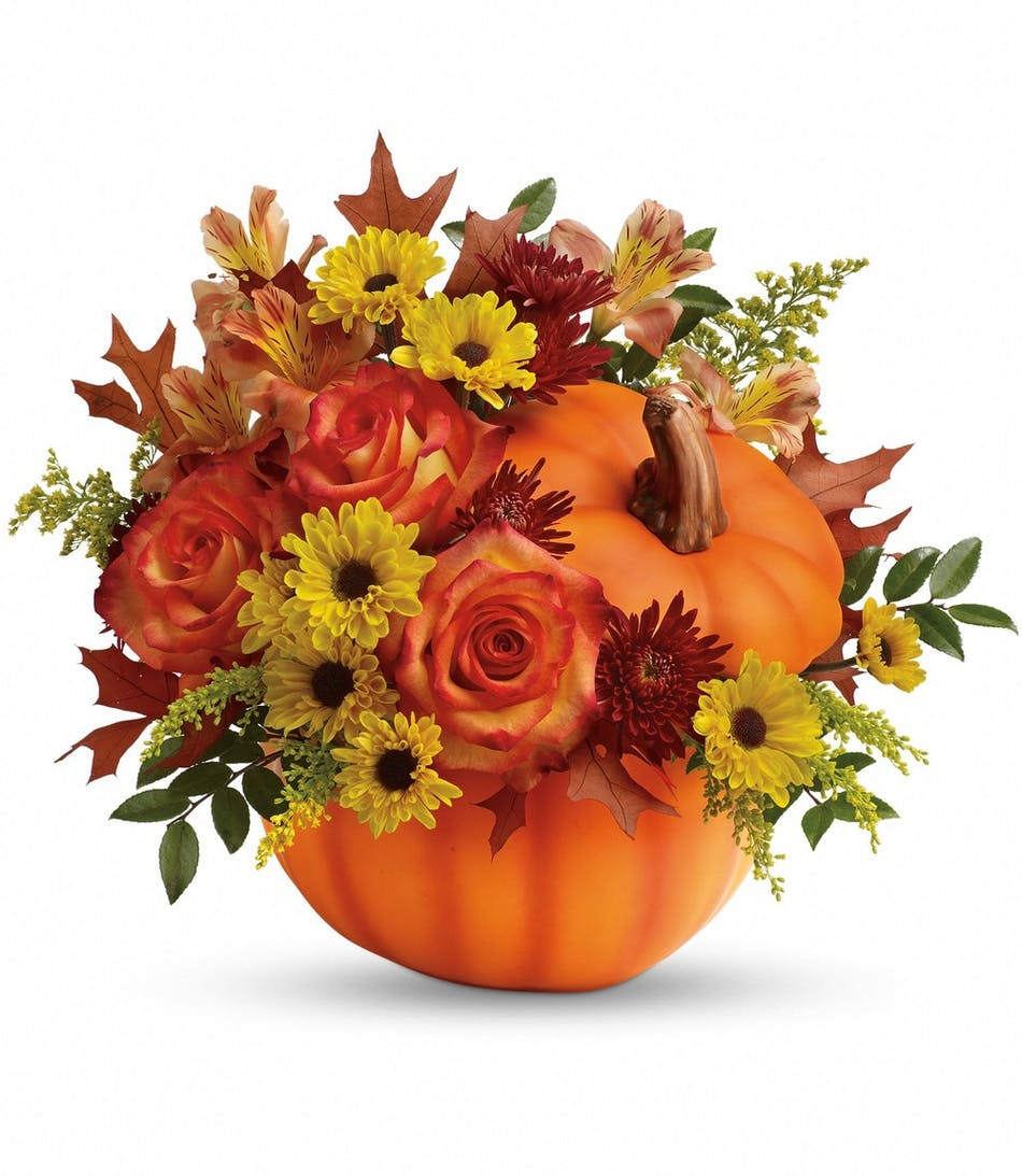 Warm fall wishes bouquet fall flowers conklyns florist warm fall wishes floral arrangement izmirmasajfo