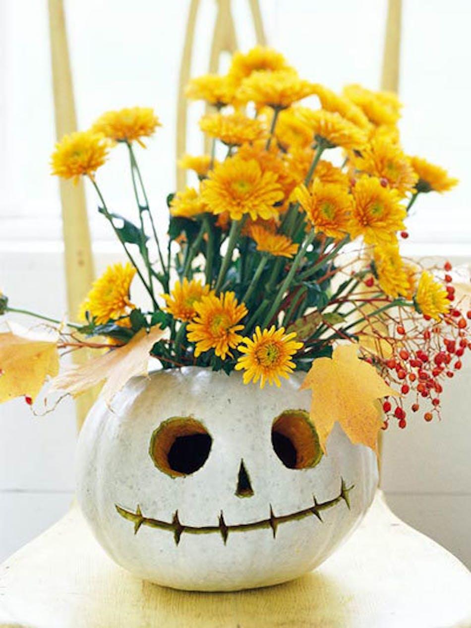 Skeleton Pumpkin - Conklyn's Flowers Nationwide