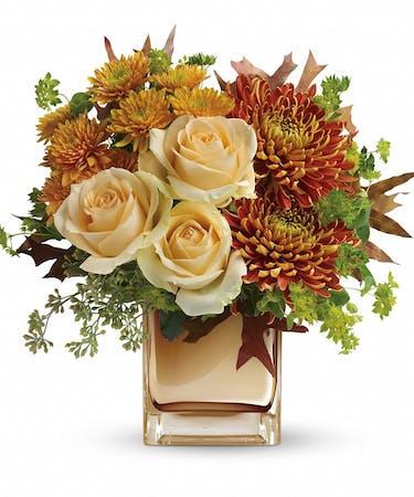 Autumn Romance Floral Bouquet Arlington Va Fall Flower Delivery