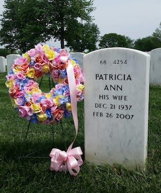 Springtime Memorial Wreath